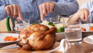 Natale a tavola con i parenti
