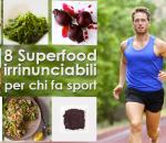 Alimenti per chi fa sport