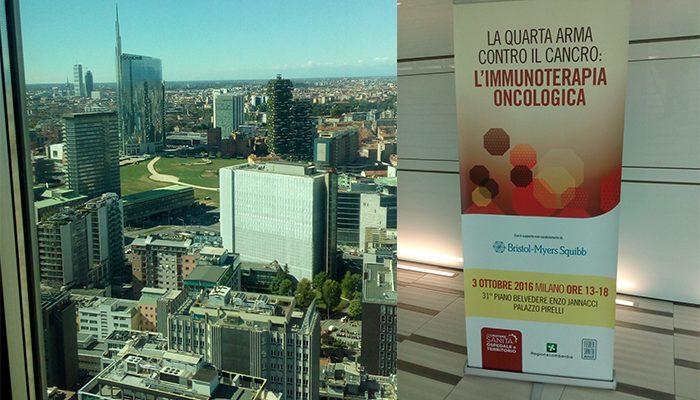 Immunoterapia oncologica, a Milano nuove strategie per una sanità innovativa