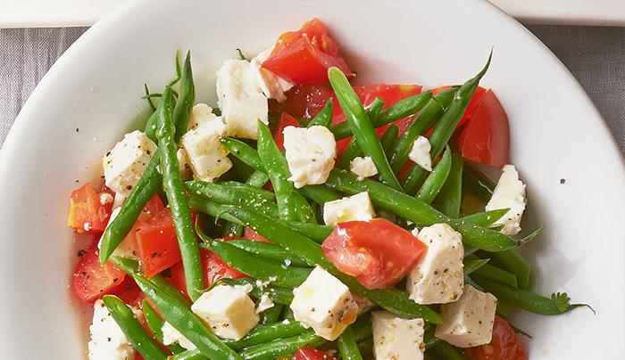 insalata-fagiolini-pomodori-e-feta