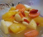 Macedonia frutta e carote
