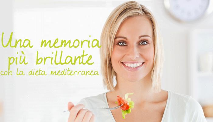 Una memoria più brillante con la dieta mediterranea