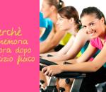 Perchè la memoria migliora dopo l'esercizio fisico