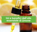 Usi e benefici dell'olio essenziale di Limone