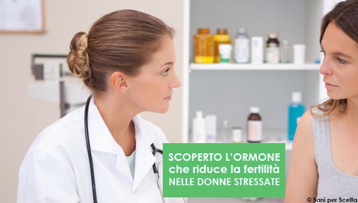 scoperto-lormone-che-riduce-la-fertilita-nelle-donne-stressate