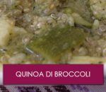 Quinoa di broccoli