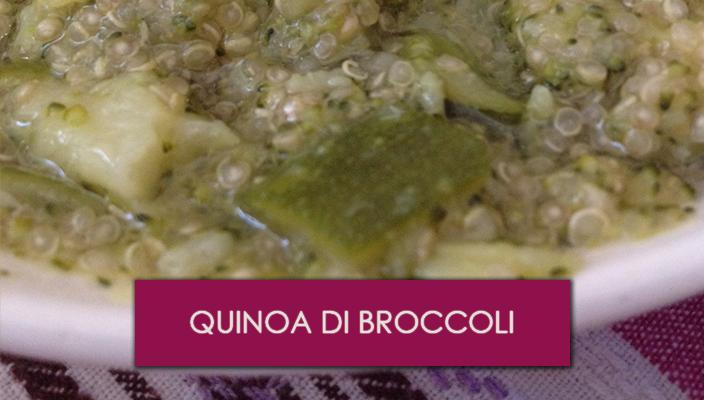 Quinoa di broccoli