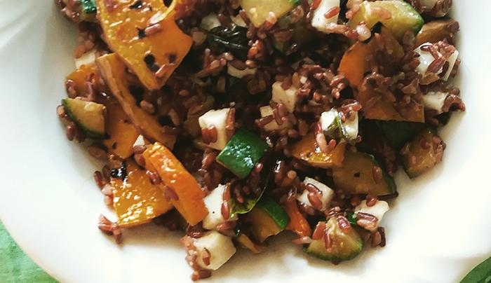 riso-venere-zucca-zucchine-primo-sale