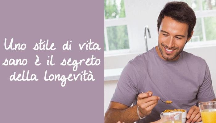 Uno stile di vita sano è il segreto della longevità