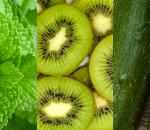 Verde: menta, kiwi, zucchine