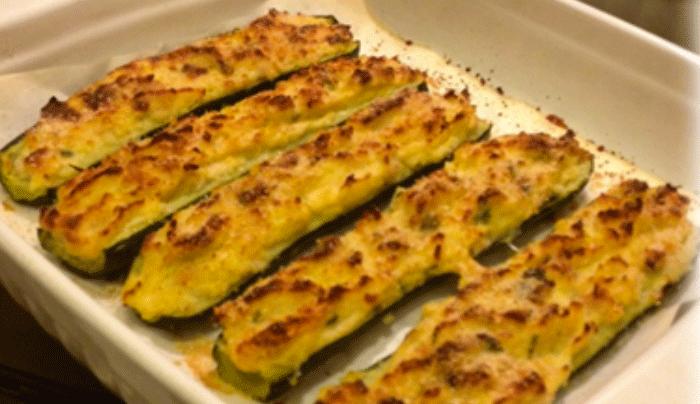 Ricetta Zucchine Ripiene Con Tonno.Zucchine Ripiene Di Patate E Tonno Sani Per Scelta