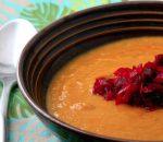 Zuppa fredda di carote con barbabietole – 65 min